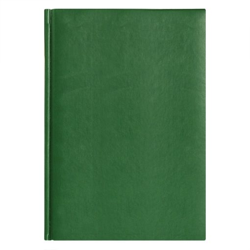 Ежедневник недатированный City Winner 145х205 мм, без календаря, зеленый