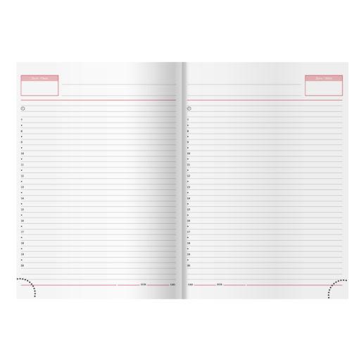 Недатированный ежедневник VELVET 650U (5451) 145×205мм , без календаря, черный