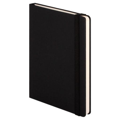Ежедневник недатированный Marseille soft touch BtoBook, черный
