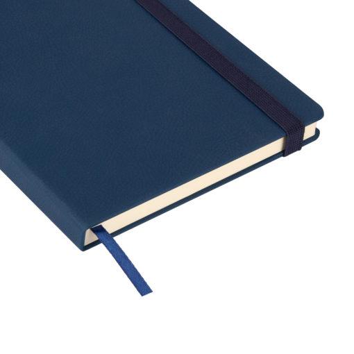 Ежедневник недатированный Marseille soft touch BtoBook, синий