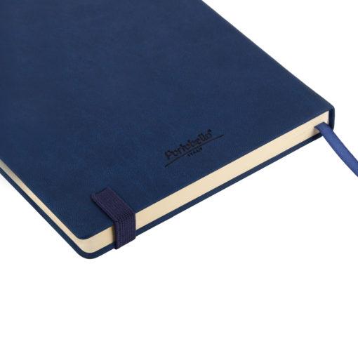 Ежедневник недатированный Latte soft touch BtoBook, синий