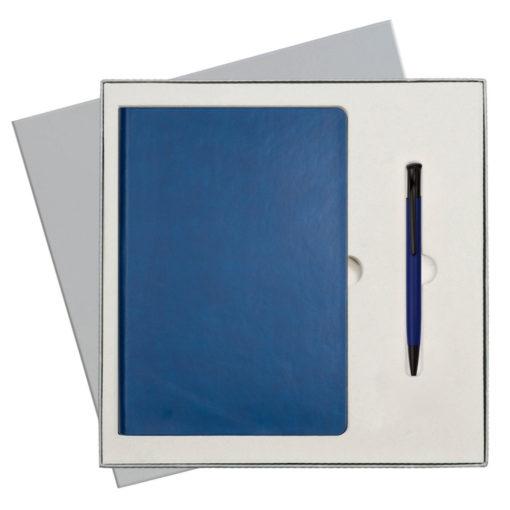 Подарочный набор Portobello/Sky синий-9 (Ежедневник недат А5, Ручка)