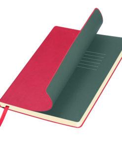 Ежедневник Portobello Trend, Sky, недатированный, красный