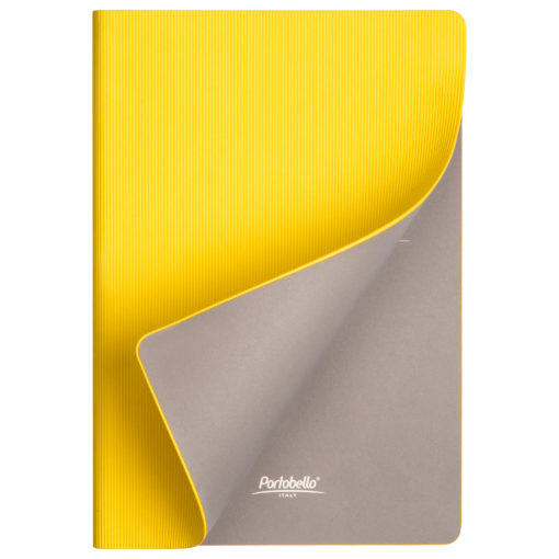 Ежедневник Portobello Trend, Rain, недатированный, желтый