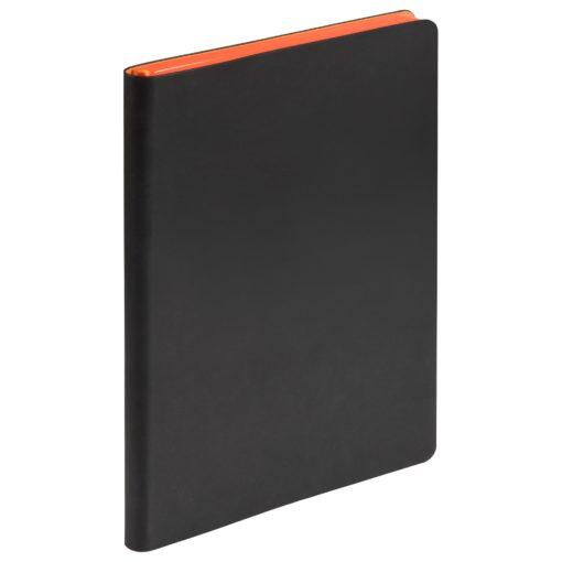 Ежедневник Portobello Trend, Latte NEW, недатированный, черный/оранжевый