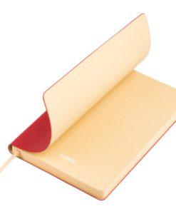 Ежедневник Portobello Trend, Latte NEW, недатированный, красный/бежевый