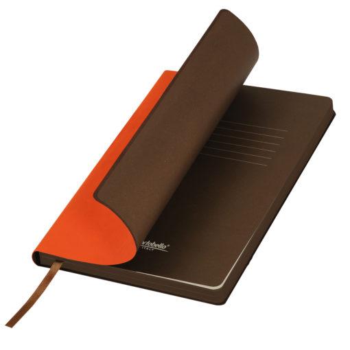 Ежедневник Portobello Trend, Latte NEW, недатированный, оранжевый/коричневый
