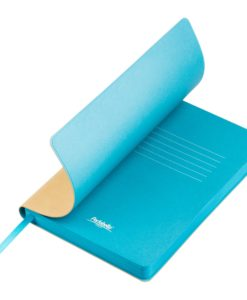 Ежедневник Portobello Trend, Latte NEW, недатированный, бежевый/голубой