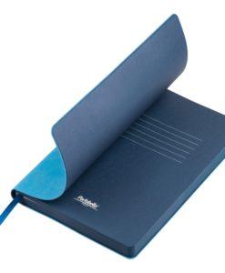 Ежедневник Portobello Trend, Latte NEW, недатированный, голубой/синий