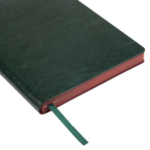 Ежедневник Portobello Trend, River side, недатированный, зеленый/бургунди