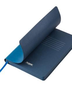 Ежедневник Portobello Trend, River side, недатированный, лазурный/синий