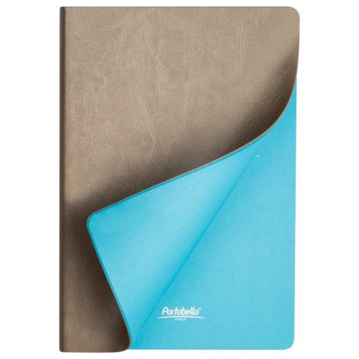 Ежедневник Portobello Trend, River side, недатированный, бежевый/голубой