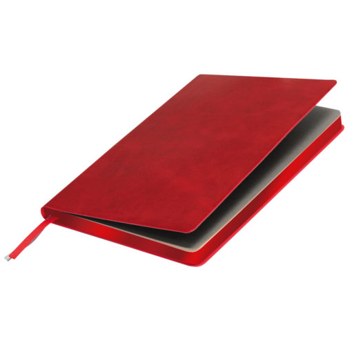 Ежедневник Portobello Trend, Atlas, недатированный, красный, срез-фольга/красный