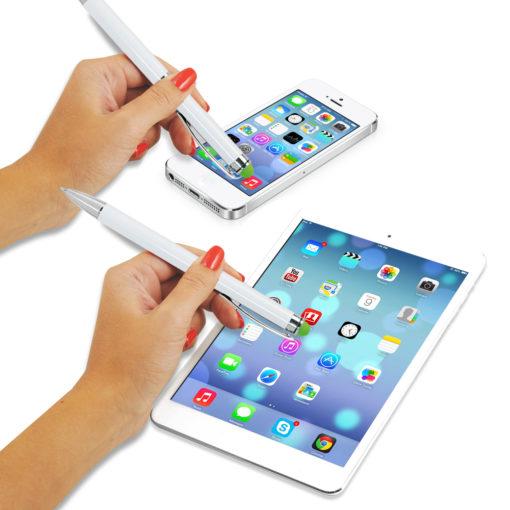 Шариковая ручка Arctic, белая/зеленая