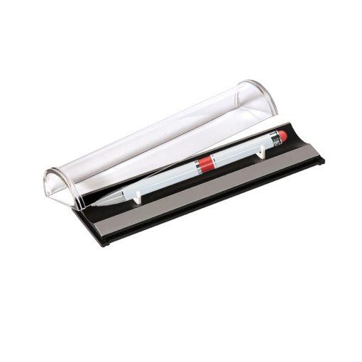Шариковая ручка Arctic, белая/красная в упаковке