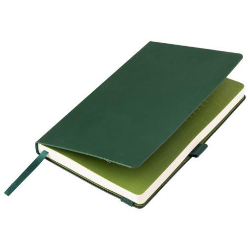 Ежедневник Portobello Trend, Alpha, недатированный, зеленый/оливковый