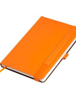 Ежедневник Portobello Trend, Alpha, недатированный, оранжевый/коричневый