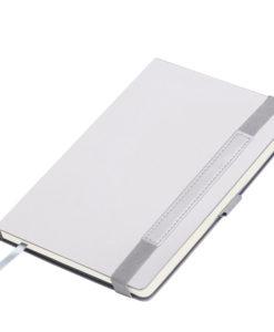 Ежедневник Portobello Trend, Alpha, недатированный, серебро/серый