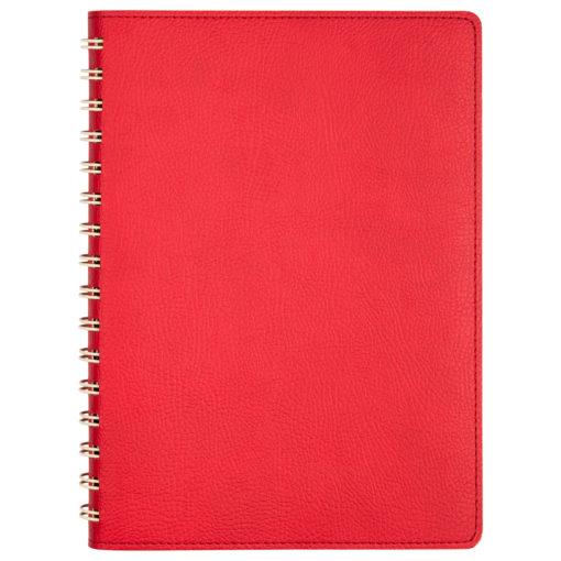 Ежедневник Portobello Trend, Vista, недатированный, красный/бежевый
