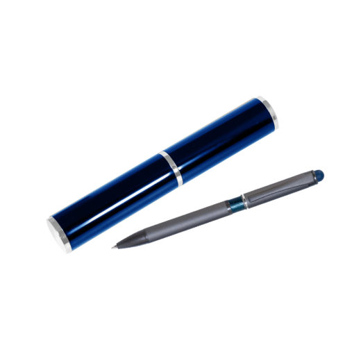 Шариковая ручка IP Chameleon, синяя, в тубусе