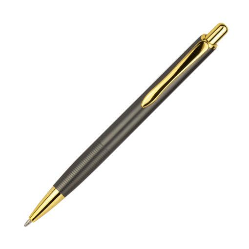 Шариковая ручка Cardin, какао/золото