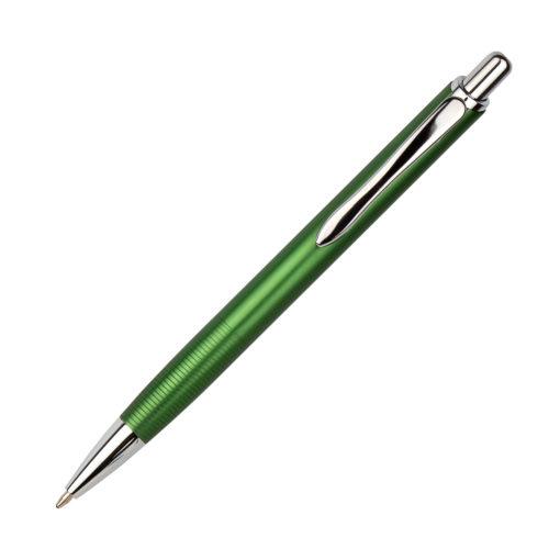 Шариковая ручка Cardin, зеленая/хром