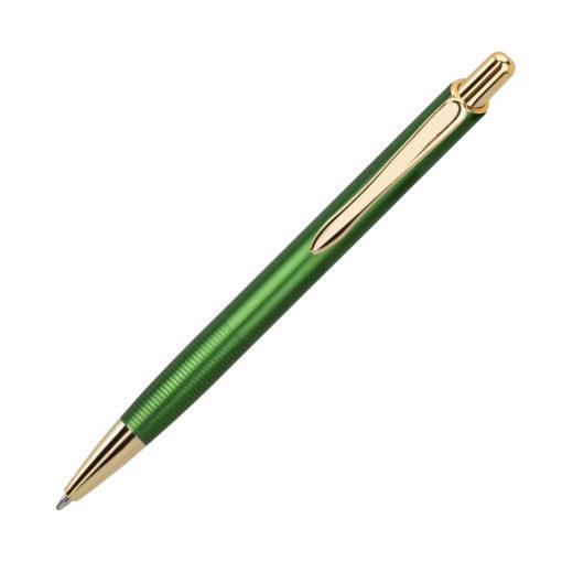 Шариковая ручка Cardin, зеленая/золото