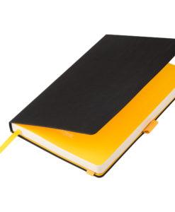 Ежедневник Portobello Trend, Chameleon NEO, недатированный, черный/желтый