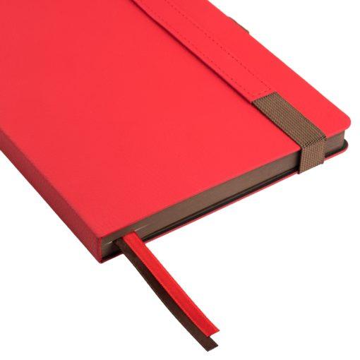 Ежедневник Portobello Trend, Marseille soft touch, недатированный, красный