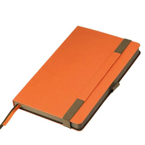 Ежедневник Portobello Trend, Marseille soft touch, недатированный, оранжевый