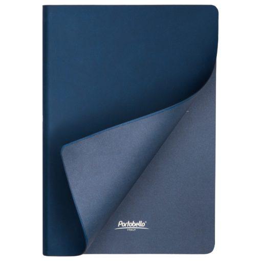 Ежедневник Portobello Trend, Latte soft touch, недатированный, синий