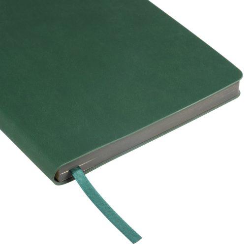 Ежедневник Portobello Trend, Latte soft touch, недатированный, зеленый