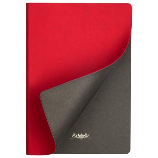 Ежедневник Portobello Trend, Latte soft touch, недатированный, красный