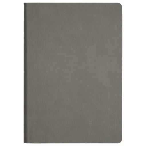 Ежедневник Portobello Trend, Latte soft touch, недатированный, серый