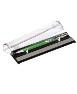 Шариковая ручка Cardin, зеленая/хром, в упаковке