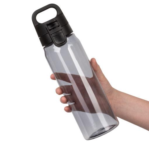 Спортивная бутылка для воды, Aqua, 830 ml, черная