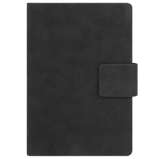 Ежедневник Portobello Trend, Ritz, недатированный, черный, твердая обложка, срез-фольга/черный