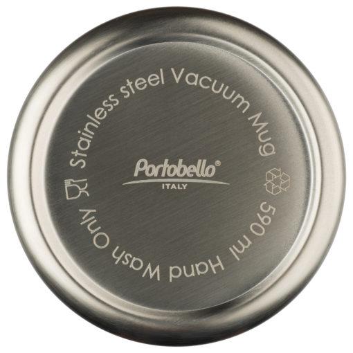 Термокружка вакуумная, Crown, 590 ml, матовое покрытие, черная