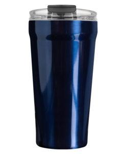 Термокружка вакуумная Forte 500 ml,  синяя
