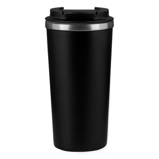 Термокружка вакуумная, Palermo, 480 ml, черная