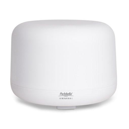 Увлажнитель-ароматизатор воздуха с подсветкой, Aero, 500 ml, белый