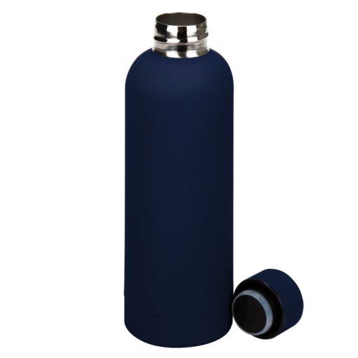 Термобутылка вакуумная герметичная, Prima, 500 ml, синяя