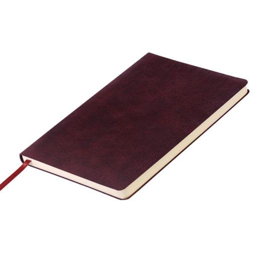 Ежедневник недатированный, Portobello Trend NEW, Vegas City, 145х210, 224 стр, бордовый