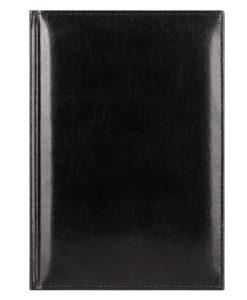 Ежедневник недатированный Madrid, 145×205, натур.кожа, черный, подарочная коробка