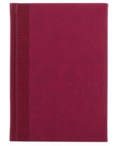 Ежедневник VELVET, А5,  датированный (2022 г.), бордовый
