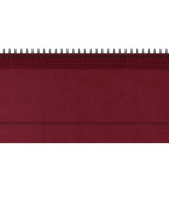Планинг VELVET, датированный (2022 г.), бордовый