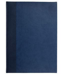 Еженедельник VELVET, А4, датированный (2022 г.), синий