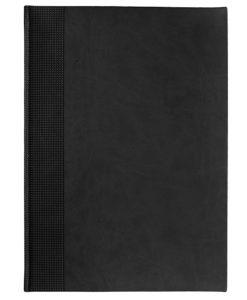 Еженедельник VELVET, А4, датированный (2022 г.), черный