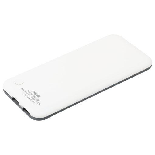 Внешний аккумулятор, Slim NEO, 10000 mAh, серый/белый