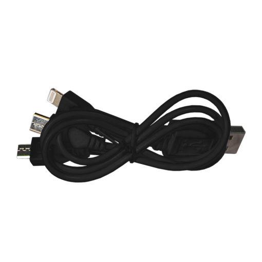 Внешний аккумулятор Carbon PB, 10000 mah, графитовый металлик